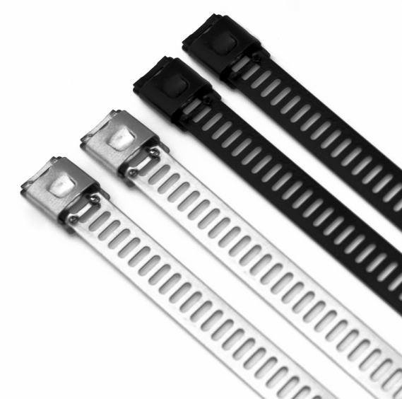 Ladder Type Ball Lock Adjustable Stainless Steel Cable Ties